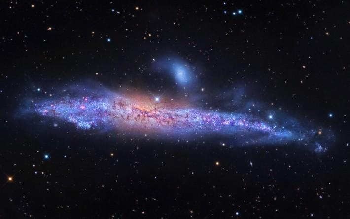 Galaxia eliptica NGC 4631, Foto: annesastronomynews.com