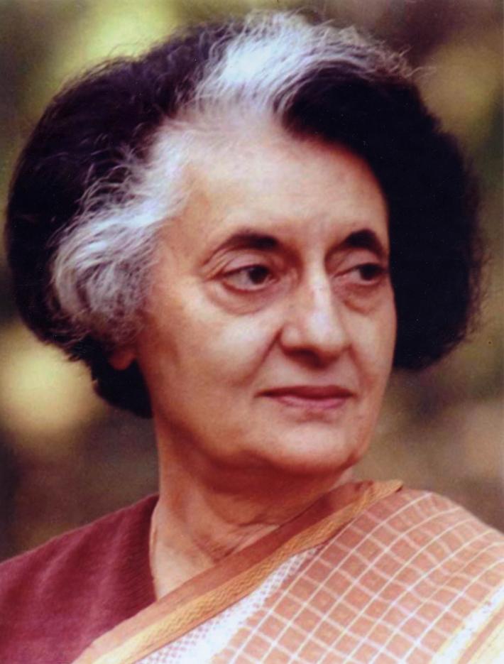 Indira Gandhi, Foto: yuvasaktiyuvasangram.in