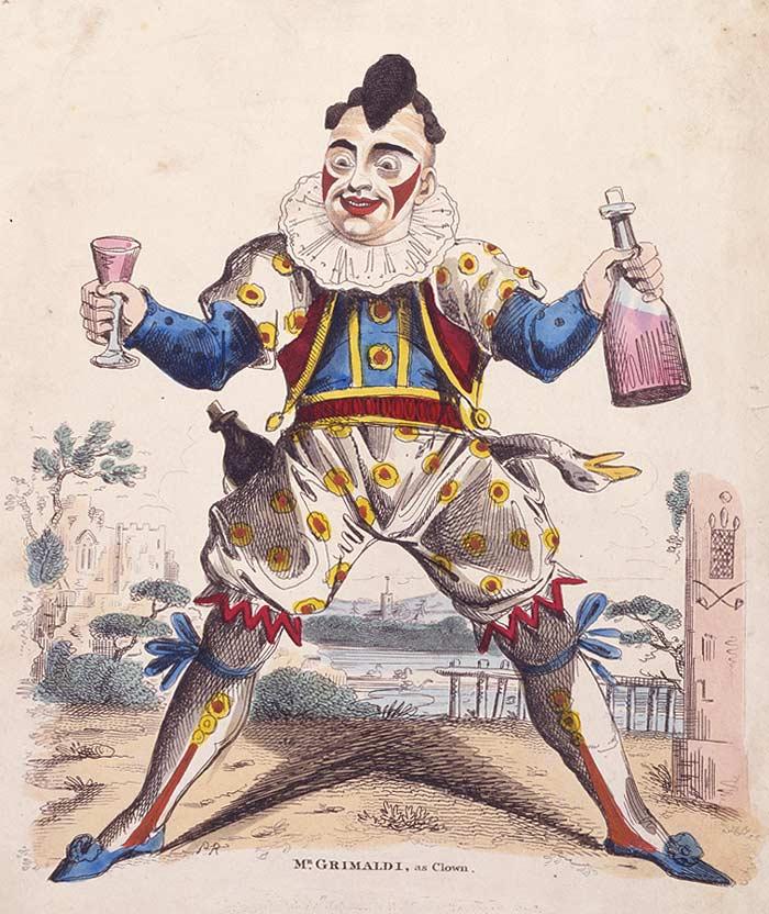 Joseph Grimaldi (Clown Joey), Foto: en.wikipedia.org