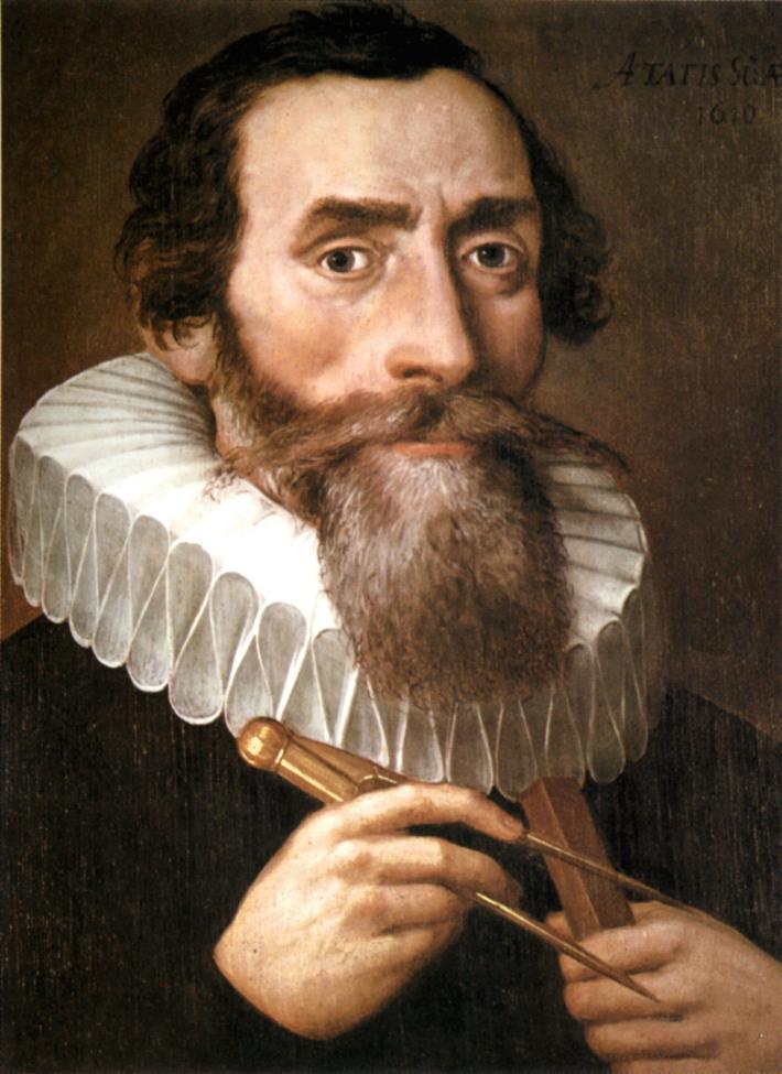 Johannes Kepler , Foto: haysvillelibrary.wordpress.com