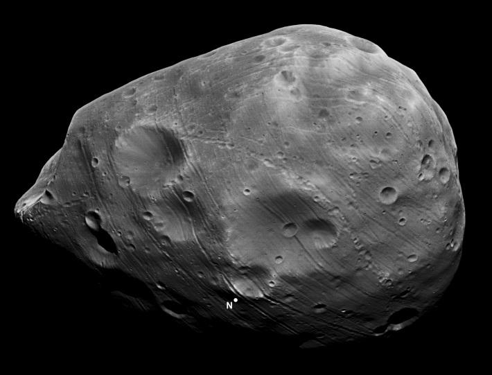 Phobos, Foto: haysvillelibrary.wordpress.com