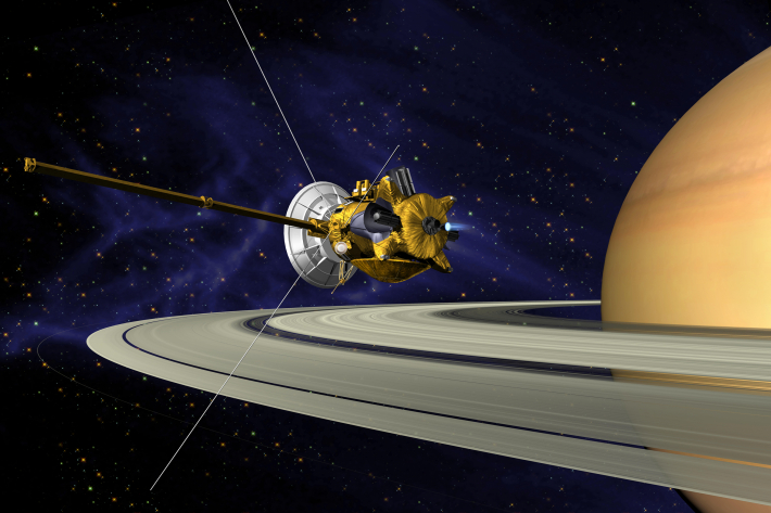 Sonda Cassini in misiunea pe Saturn, Foto: es.wikipedia.org