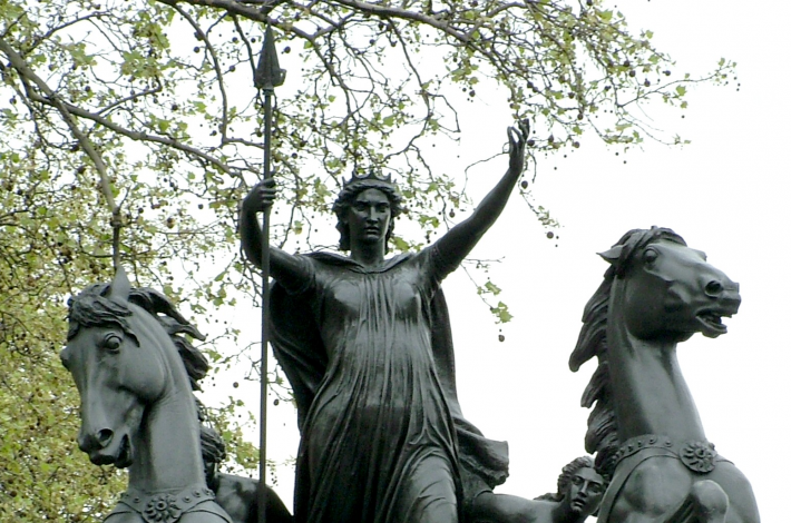 Statuia Reginei Boudicca din Londra, Foto: en.wikipedia.org