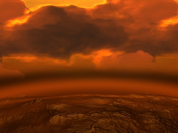 Suprafata planetei Venus, Foto: universetoday.com