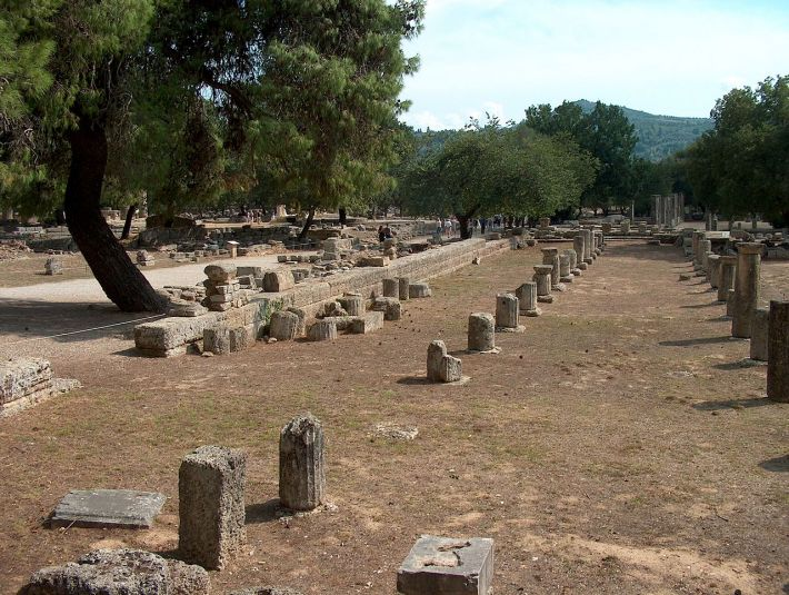 Vechiul Stadion de Jocuri Olimpice din Elis, Grecia, Foto: en.wikipedia.org