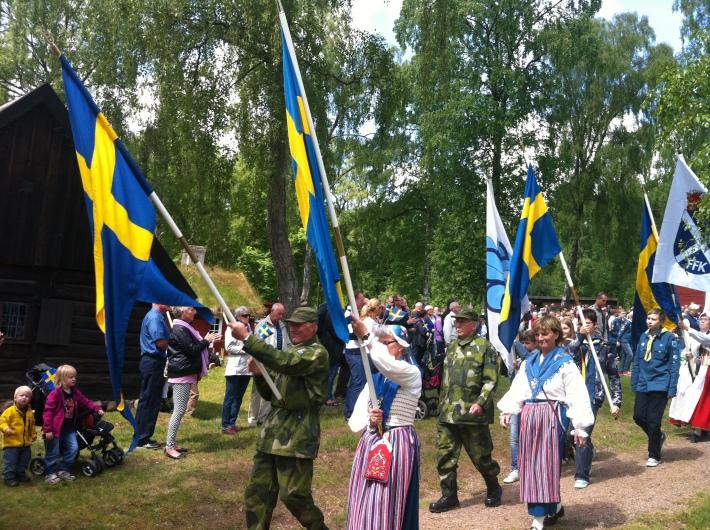 Celebrarea Zilei Drapelului in Suedia, Foto: somethingswedish.wordpress.com