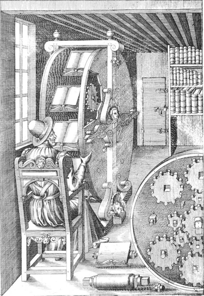 Agostino Ramelli in biroul de inventii, Foto: fr.wikipedia.org