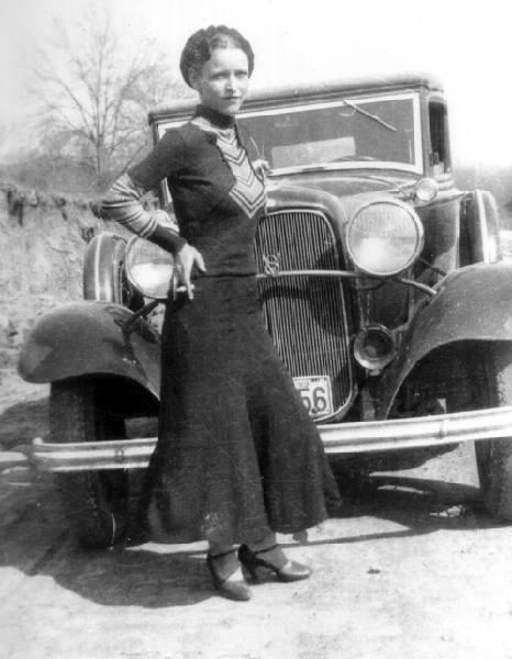 Bonnie Parker, Foto: en.wikipedia.org
