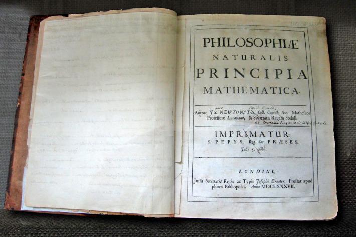 Cartea Principia de Isaac Newton, Foto: en.wikipedia.org