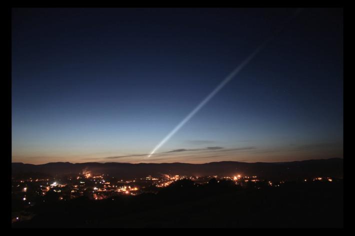 Cometa ISON , Foto: waitingforison.wordpress.com