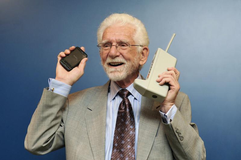 Martin Cooper, inventatorul telefonului mobil, Foto: libertaddigital.com