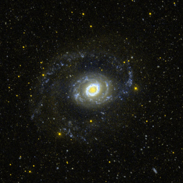 Messier 94, Foto: commons.wikimedia.org/wiki/File:Messier_94_-_GALEX_-_WIKISKY.png