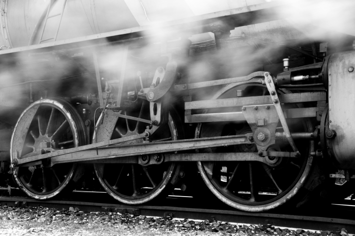 Motorul unei locomotive cu aburi, Foto: en.wikipedia.org
