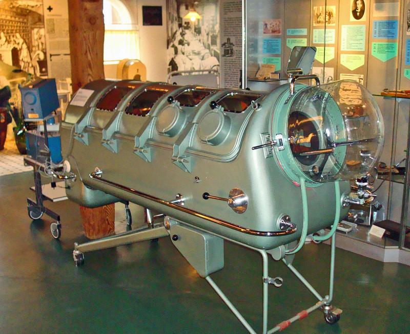 Plamani de Fier inventat de Philip Drinker, expus in Muzeul din Gütersloh, Foto: en.wikipedia.org