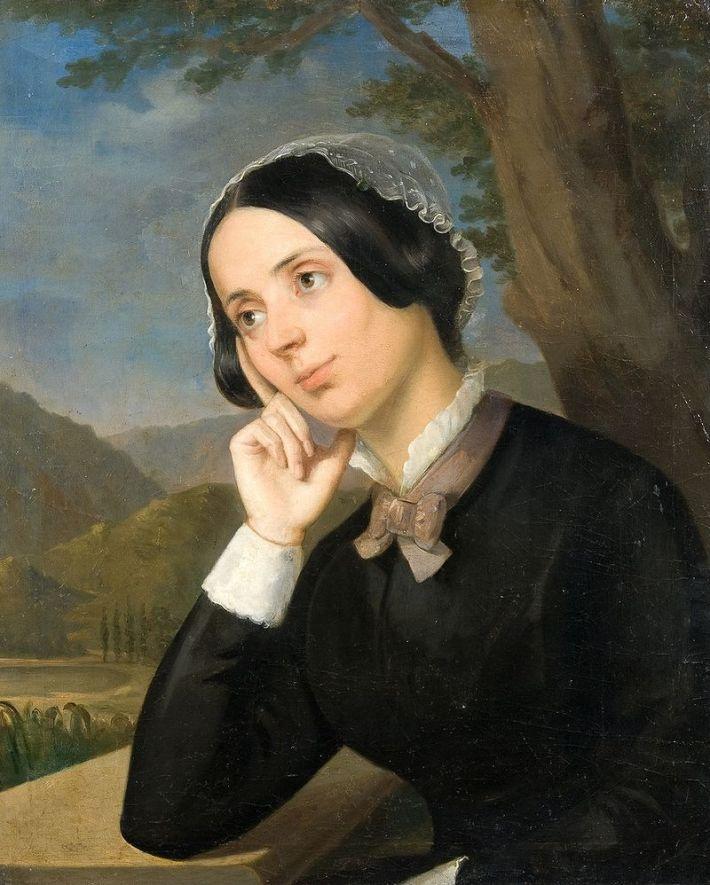 Portretul Mariei Rosetti de Constantin Daniel Rosenthal, Foto: en.wikipedia.org