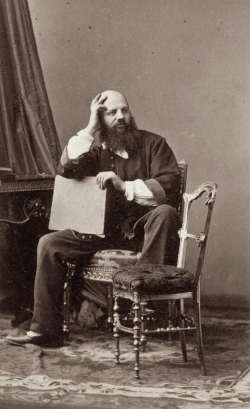 Portretul lui Andre Adophe Eugene Disderi, Foto: en.wikipedia.org