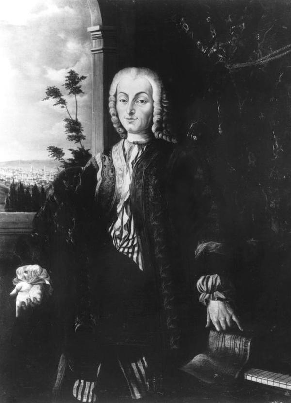 Portretul lui Bartolomeo di Francesco Cristofori langa pian, Foto: de.wikipedia.org