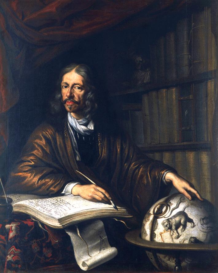 Portretul lui Johannes Hevelius, Foto: de.wikipedia.org