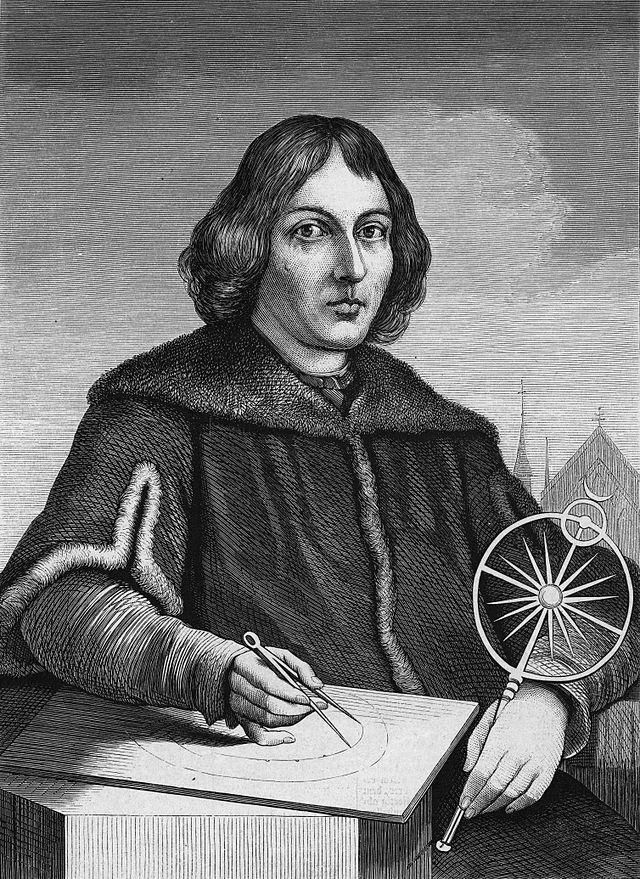 Portretul lui Nicolas Copernic, Foto: ro.wikipedia.o