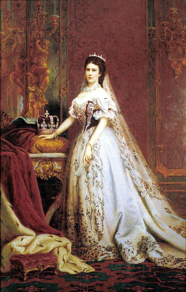 Portreul reginei Elisabeta Elisabeta, realizat de Székely Bertalan, Foto: ro.wikipedia.org