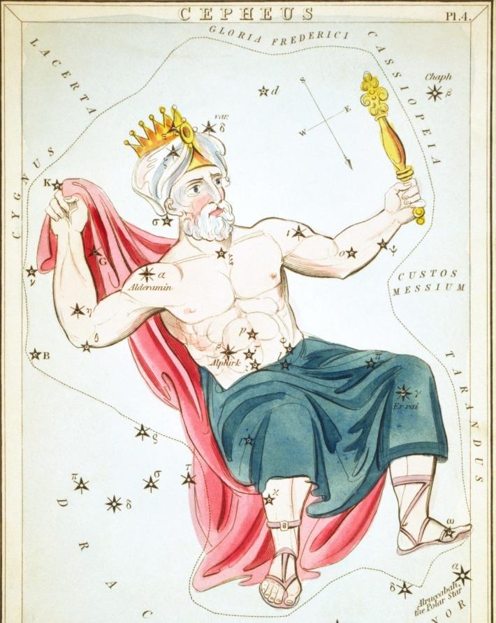Simbolul constelatiei Cepheus, Foto: en.wikipedia.org
