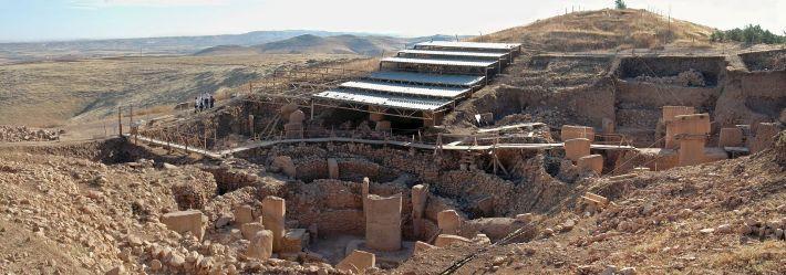 Templul Gobleky Tepe in timpul excavarilor, Foto: en.wikipedia.org