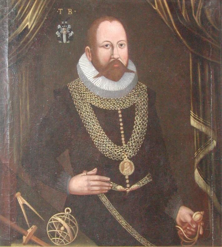 Portretul lui Tycho Brahe, Foto: watersindenmark.blogspot.com