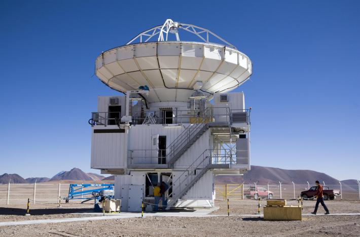 Telescopul APAX, telescop