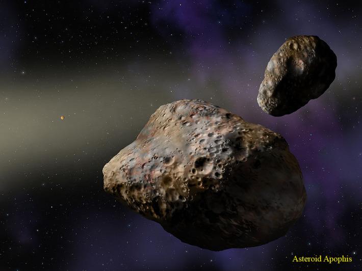 Asteroidul Aphophis, Foto: inneza.wordpress.com
