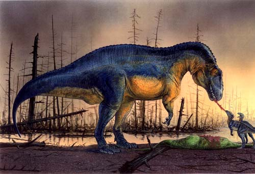Acrocanthosaurus, Foto: search4dinosaurs.com