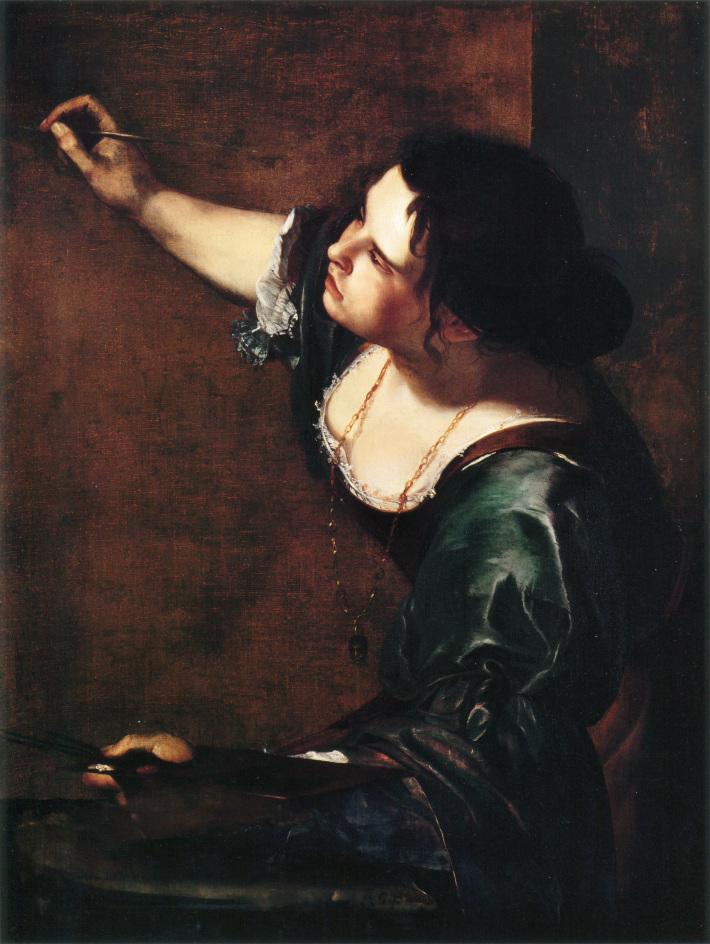 Autoportretul Artemisiei Gentileschil, Foto: en.wikipedia.or