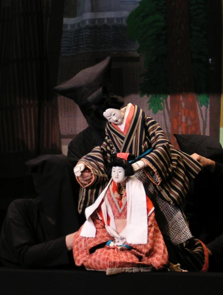 Bunraku teatrul japonez de papusi, Foto: adramaturginjapan.wordpress.com