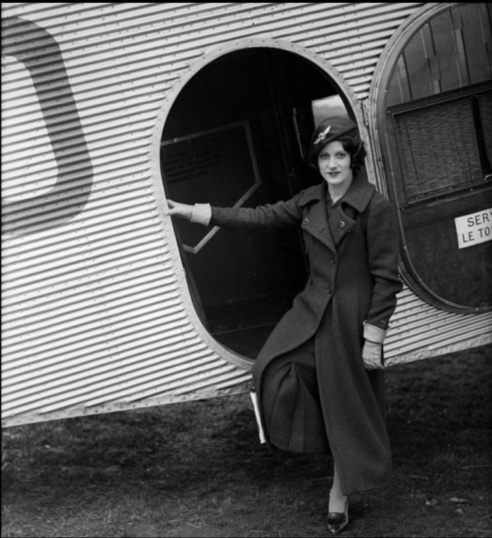 Ellen Church Stewardess in 1930, Foto: tackyraccoons.com