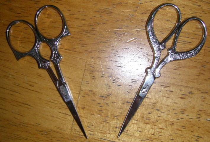 Foarfece metalice, Foto: dorothybakerdesigns.blogspot.com