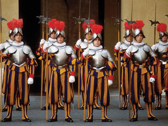 Garda Elvetiana a Vaticanului, Foto: sadp.wordpress.com