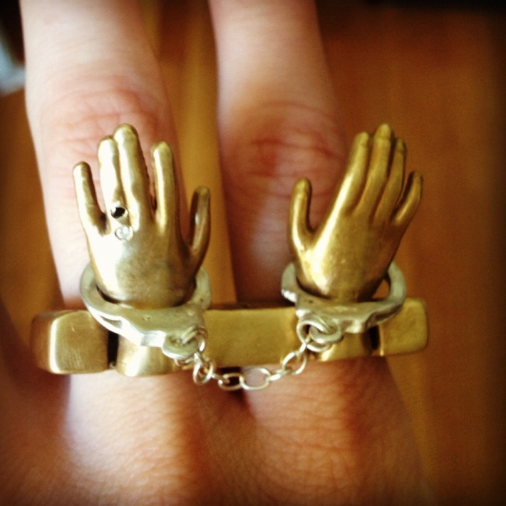 inel argint coroana