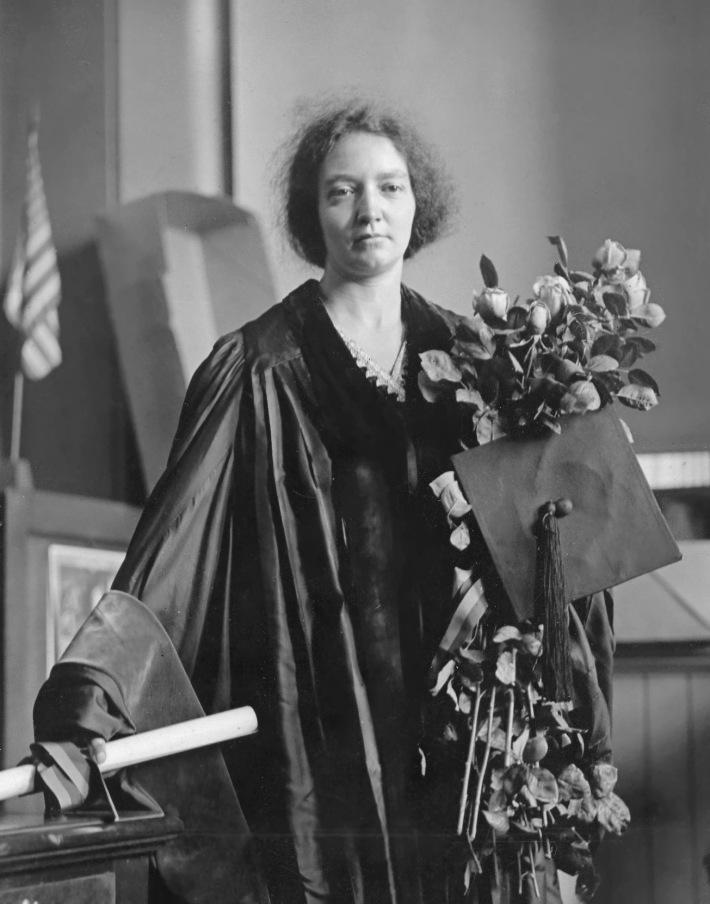 Irene Joliot Curie, Foto: drbourgrire.wordpress.com