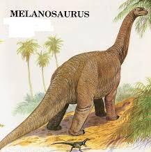 Dinozaurul Melanosaurus, Foto: chasmosaurs.blogspot.com