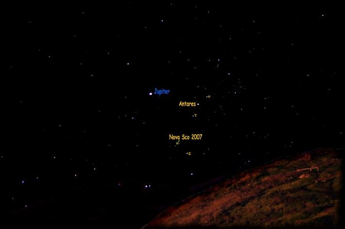 Nova Scorpii, Foto: en.wikipedia.org