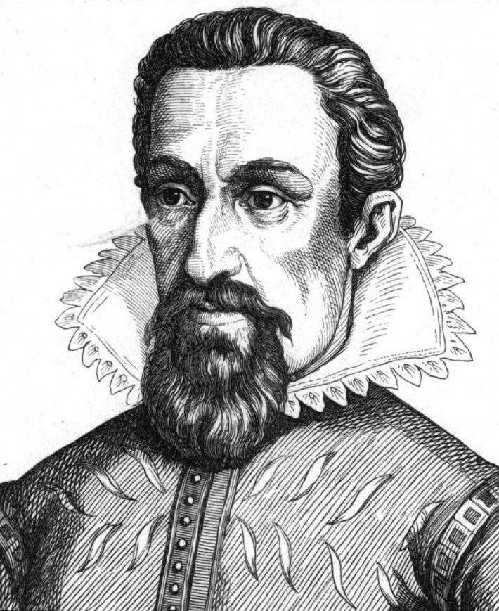 Portretul lui Johannes Kepler, Foto: nl.wikipedia.org