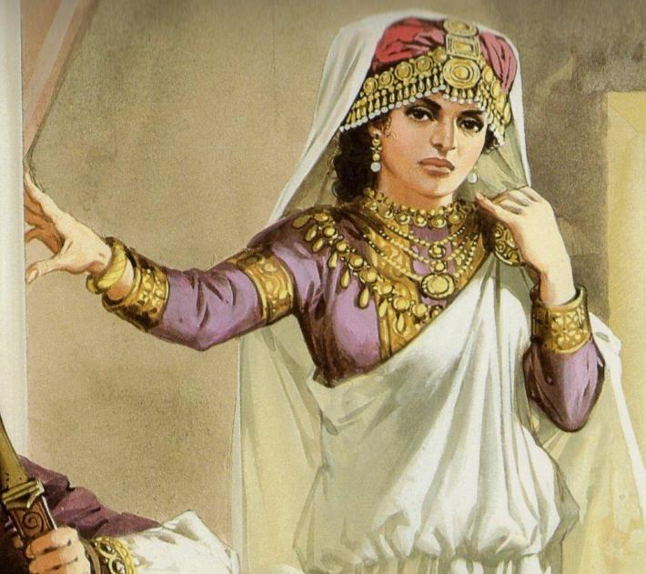 Portretul reginei Zenobia, Foto: sarwataj.wordpress.com