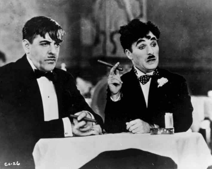 Secventa dintr-un film cu Charlie Chaplin, Foto: cinemashame.wordpress.com