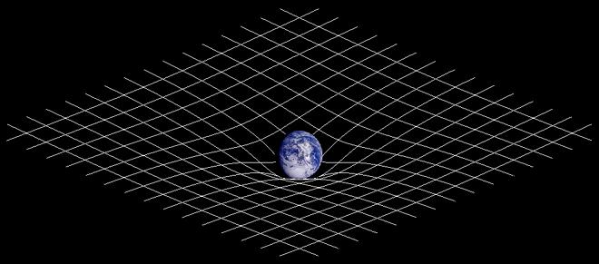 Spatiul curb al lui Einstein, Foto: en.wikipedia.org