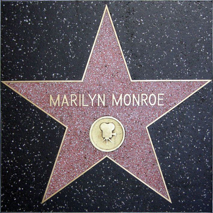 Steau lui Marilyn Monroe din Hollywood, Foto: en.wikipedia.org