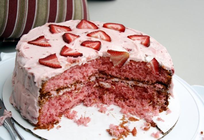 Tort cu capsuni, Foto: bigbfoodproduct.com