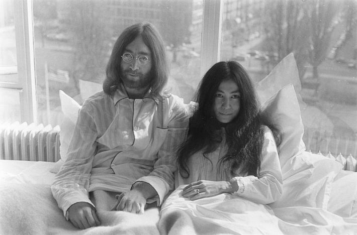 Yoko Ono si John Lenon, Foto: commons.wikimedia.org
