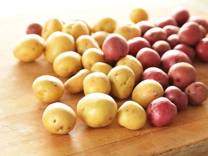 Cartofi albi si rosii, Foto: anappleaday.net.au