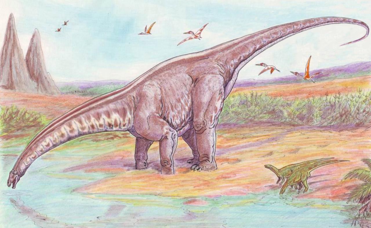 Apatosaurus, Foto: pcgames.de