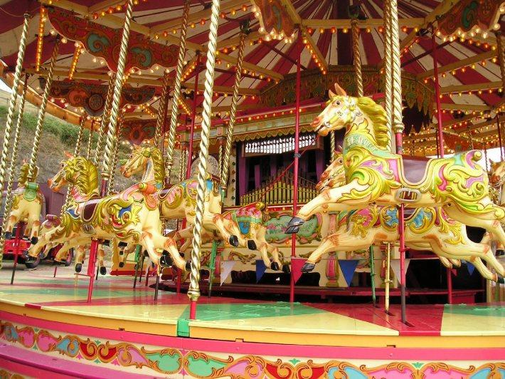 Carusel pentru copii, Foto: thelastdaughter.wordpress.com