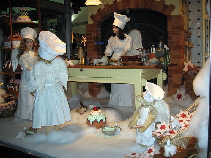 Expozitie de Craciun la Muzeul in Elvetia, Foto: labrocanteuse.blogspot.com
